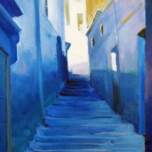 Callejon Azul. Chaouen-Tanger