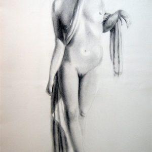 Desnudo en blanco y negro