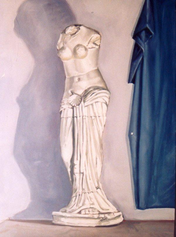 Venus.bodegón. Oleo