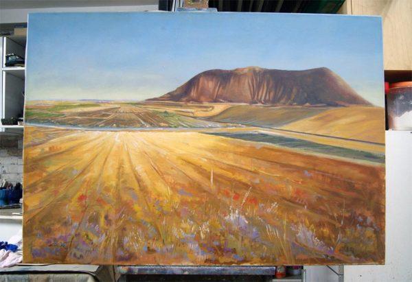 La Mancha. Paisaje