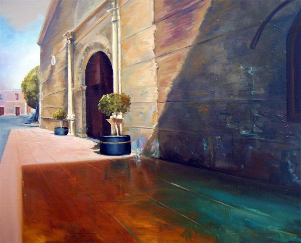 Pórtico Iglesia Huercal de Almeria