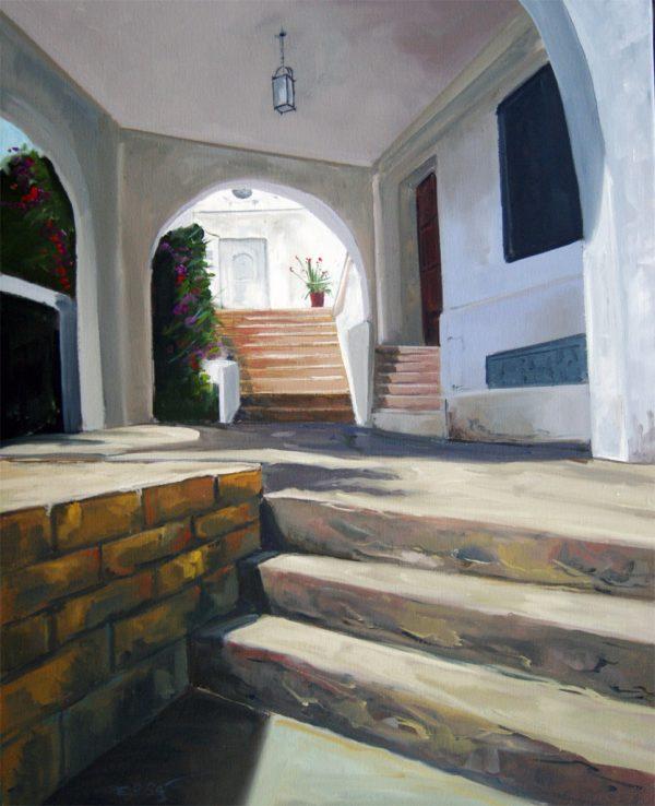 Interior escaleras mojacar
