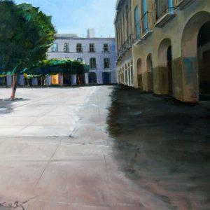 Plaza Ayuntamiento Almeria.Fachada.Dcha.