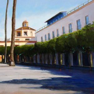 Plaza Ayuntamiento Almeria. Mto.Los Coloraos