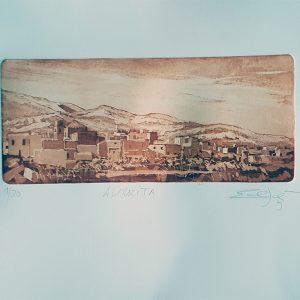 Almocita panoramica (Almeria)
